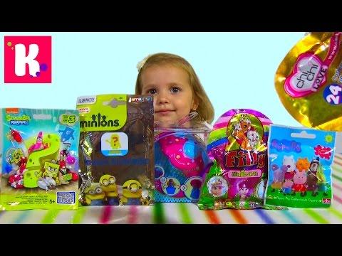 Ароматные куклы -капкейки сюрпризы с игрушками распаковка