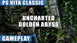 Uncharted: Golden Abyss PS Vita Gameplay | PS Vita Classic