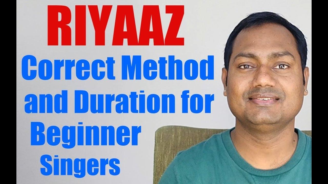 Proper Riyaaz Method and Duration For Beginner Singers
