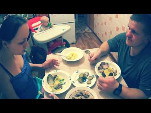 Ужин в деревне