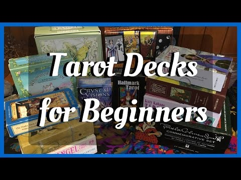 Tarot Deck Recommendations for Beginners - YouTube