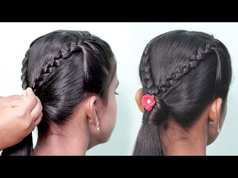 girls-hairstyle-for-events-easy-and-wonderful-for-all-types-of-hair-😘😘-|-simple-hairstyles-girl