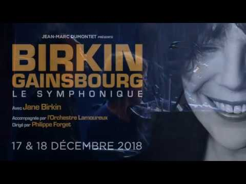 Birkin / Gainsbourg - Le Symphonique au Théâtre Libre - Le Comédia en décembre 2018
