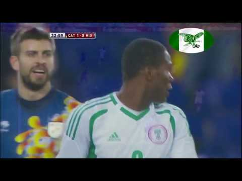 Nigeria vs Catalonia -  All Touches (Super Eagles)