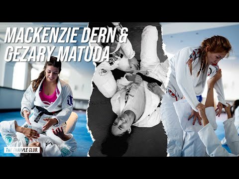 Mackenzie Dern & Gezary Matuda - Rolling With BJJ Purple/Blue Belts