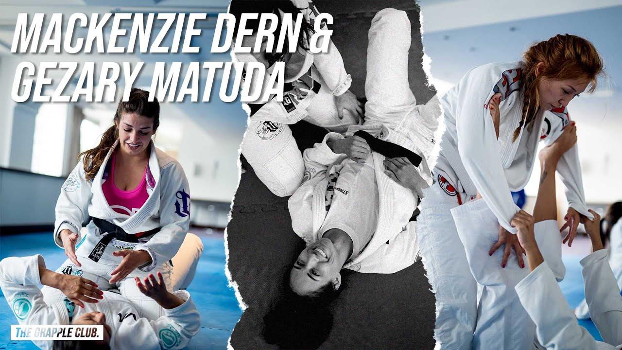 Download Mackenzie Dern & Gezary Matuda - Rolling With BJJ Purple/Blue Belts