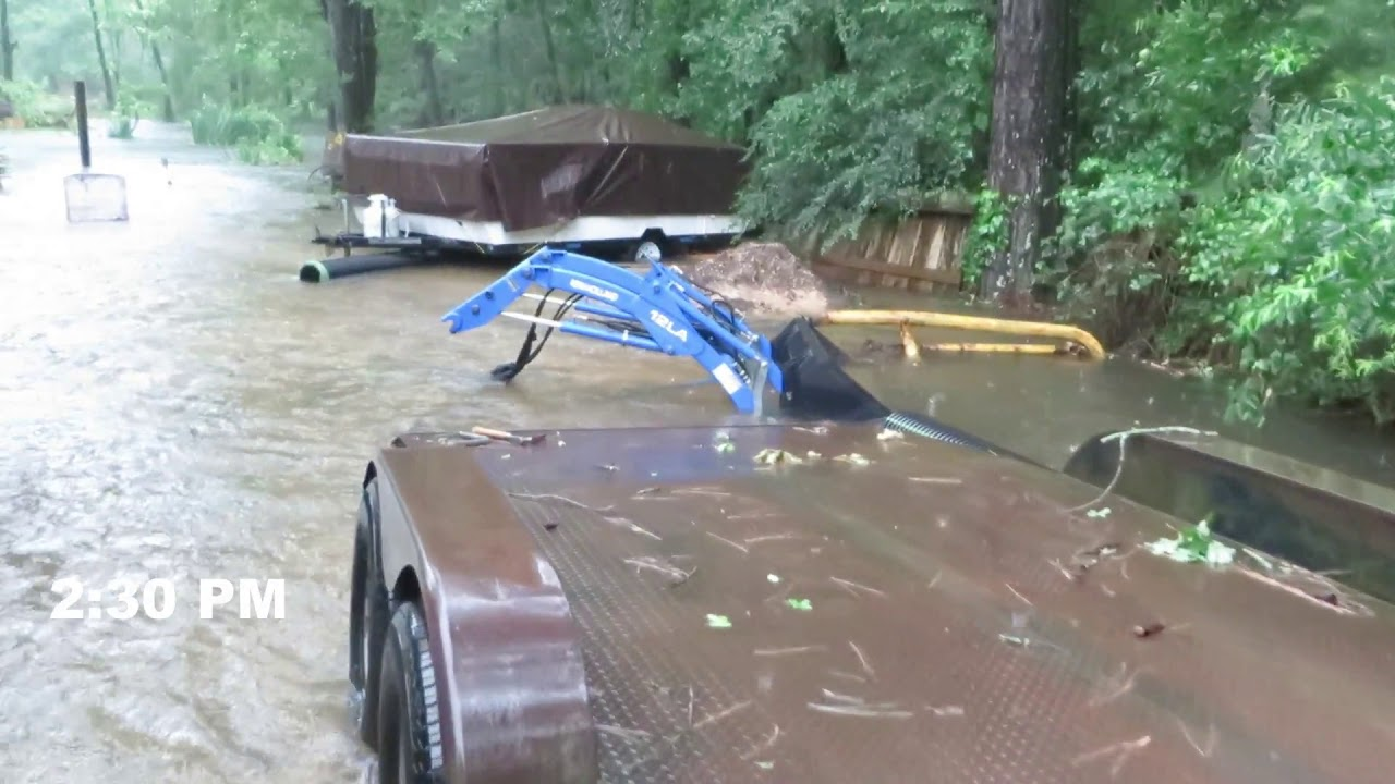 Flooding in Porter Texas May 7, 2019