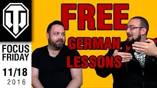 World of Tanks PC - Free German Lessons - Focus Friday