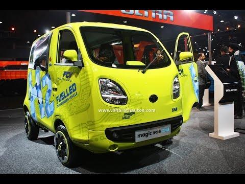 Tata Motors Magic Iris Ziva FCV Zero Emission Vehicle at 2016 Auto Expo
