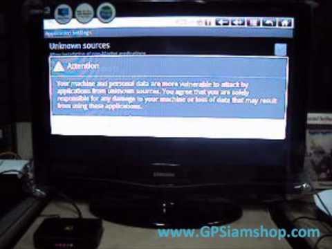 รีวิว Android TV Box - Thai Keyboard by GPSiamshop.com