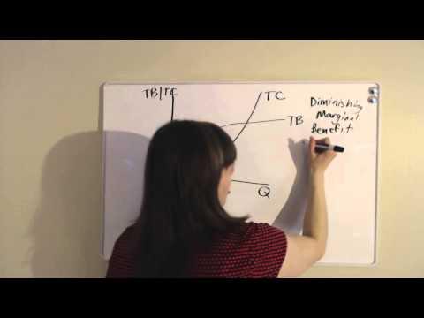 MC = MB Model - For Health Care Economics