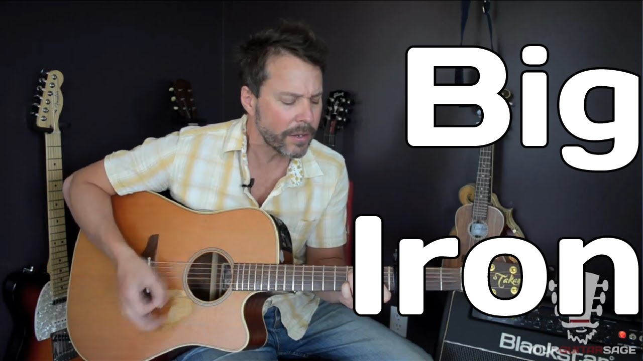 How To Play Big Iron By Marty Robbins Guitar Lesson Youtube