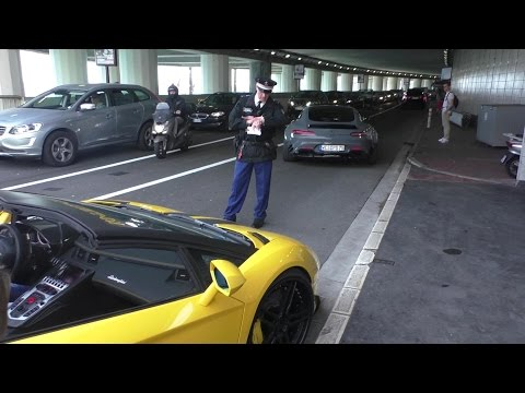 POLICE vs SUPERCARS in Monaco!   Top Marques 2016