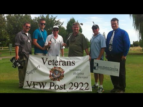 ModestoNews.org Team Golfs At VFW Charity Golf Tournament - Modesto News Supports The VFW