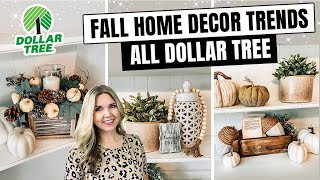 Fall 2020 DOLLAR TREE DIY 🍂 HOME DECOR TRENDS