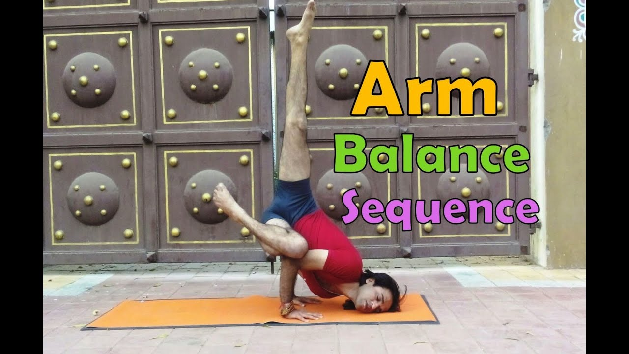 19 Arm Balance Pose Sequence
