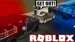 PULLING OVER SUPER CAR THIEVES in ROBLOX! (Roblox Vehicle Simulator) #32