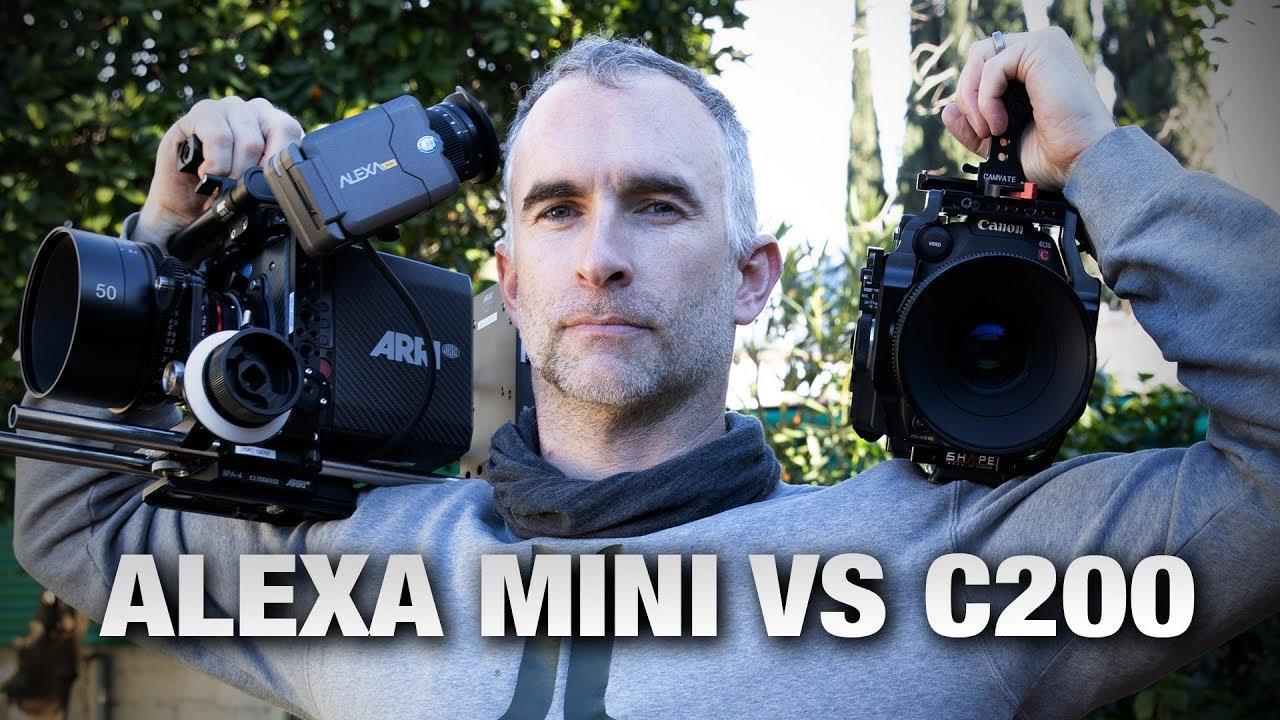 ARRI ALEXA Mini vs Canon C200: A Cinematographic Comparison