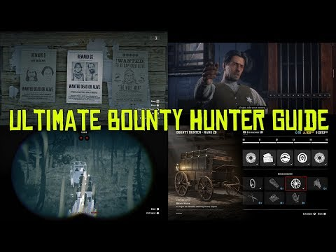 Red Dead Online Ultimate Bounty Hunter Guide, How To Make Money With The Bounty Hunter