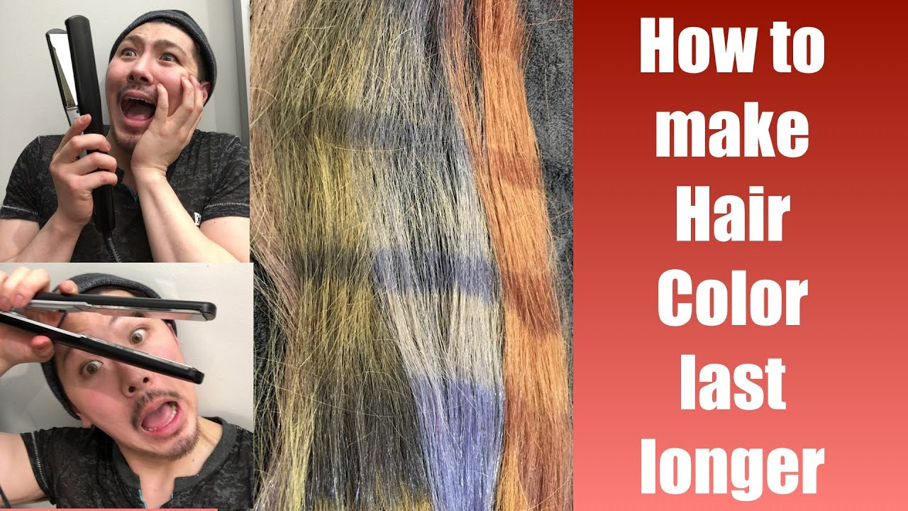 How To Make Hair Color Last Longer - Youtube-1686