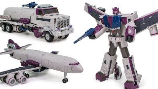 Transformers Unique Toys Y 01 Fuel Supply Priovider G1 Octane Truck Airplane Robot Toys