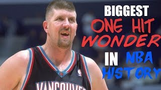 THE BIGGEST ONE HIT WONDER IN NBA HISTORY | STORY OF BRYANT REEVES