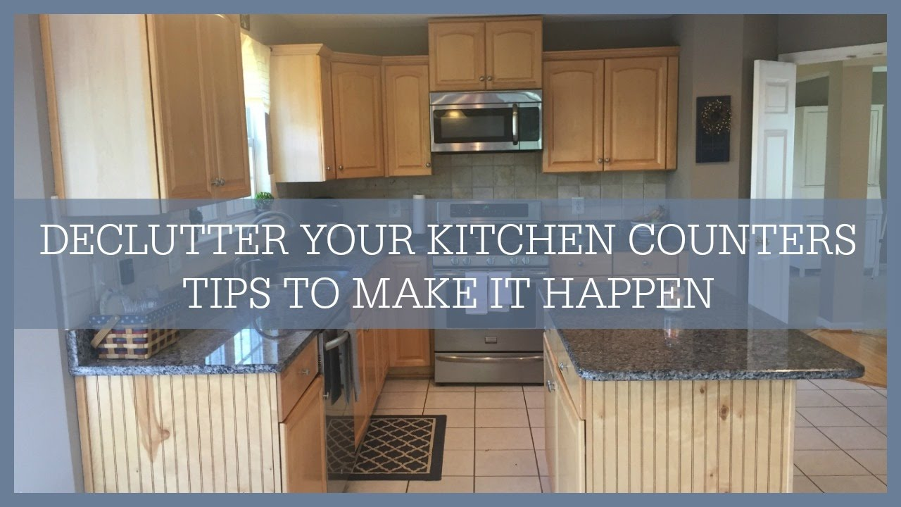 Kitchen Decluttering Counters You