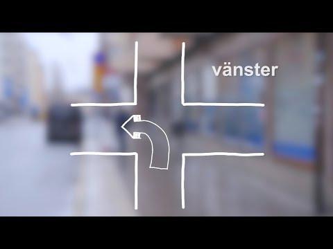 Tiếng Thụy Điển bài 9: Hỏi đường đến siêu thị