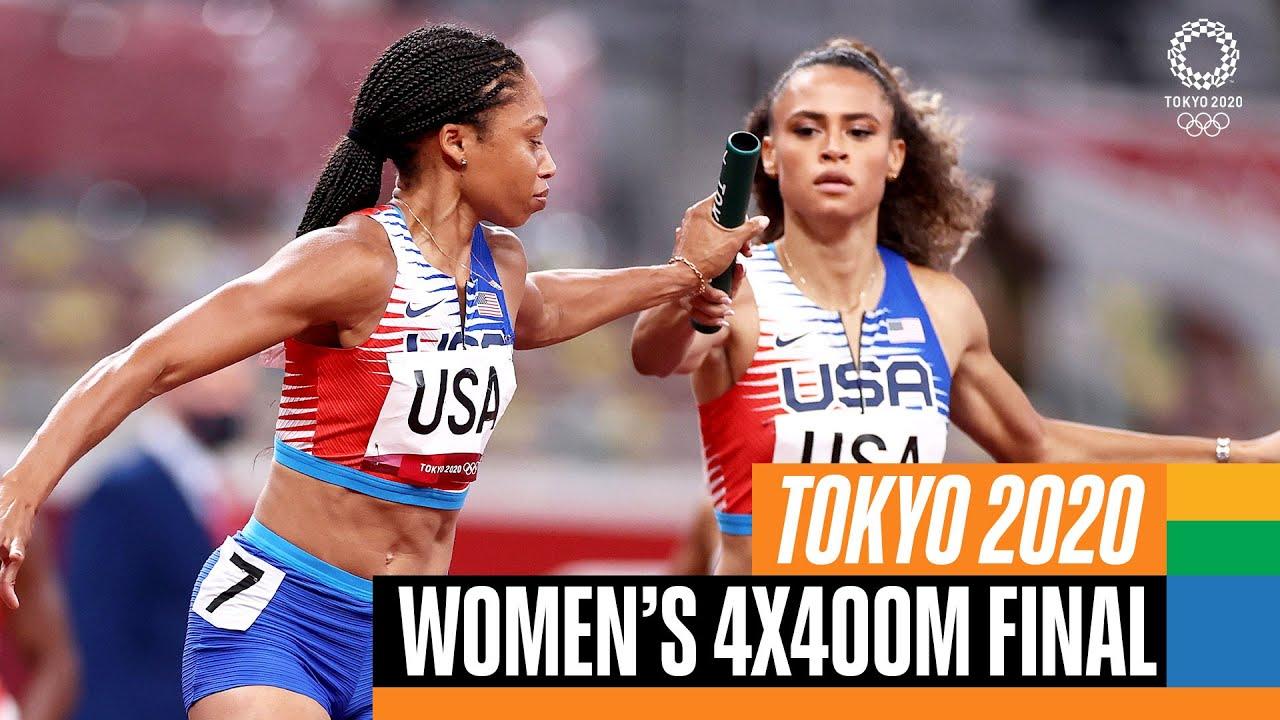 Download 🏃♀️ Women's 4x400m Final | Tokyo Replays