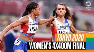 🏃♀️ Women's 4x400m Final | Tokyo R