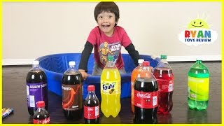 Learn Colors with Coca Cola and Fanta for Children Toddlers and Babies!  Kids Learn Colours Video thumbnail