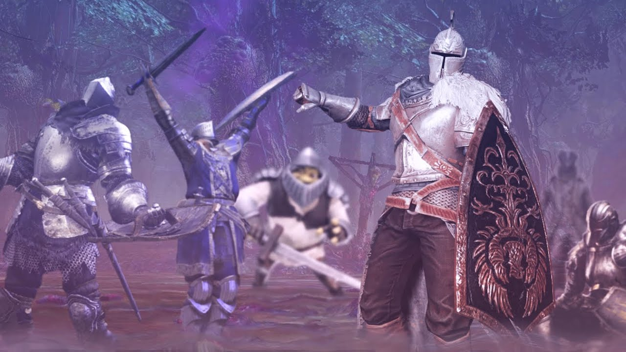 SOULS CONTEST- 5 dudes with max HP just stand in a swamp... ʸᵉˢ ᵃⁿᵈ ᵗʰᵃᵗ'ˢ ʳᵉᵃˡˡʸ ᶦᵗ