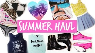 SUMMER Haul☀❀ | BeautybyBlaire Thumbnail