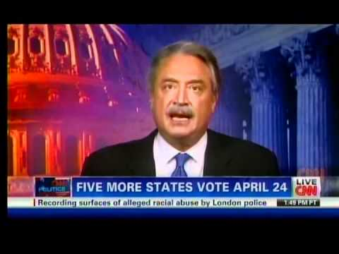 Alex Castellanos on CNN talking about endorsements for Presidential GOP Candidates