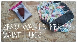 Zero waste period: what I use + 1 year menstrual cup update | Minimalist living Video