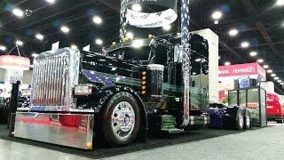 Выставка в Штате Кентукки. Все для фур, грузовиков. Часть 1. Mid America Truck Show.