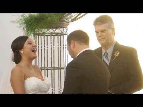 Bride and Groom Burst Out Laughing at Pastor's Comments