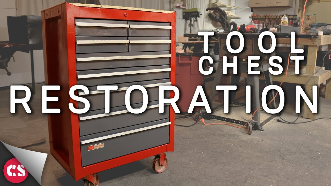Old Tool Chest Diy Restoration Youtube