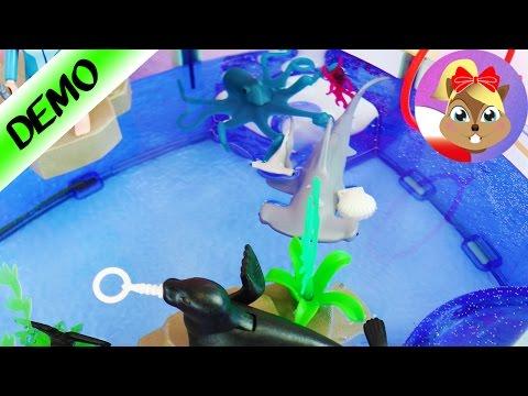 Playmobil Głowomłot i Ośmiornica dodatkowe zestawy do oceanarium unboxing
