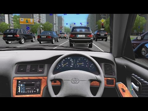 City Car Driving - Toyota Cresta | Fast Driving