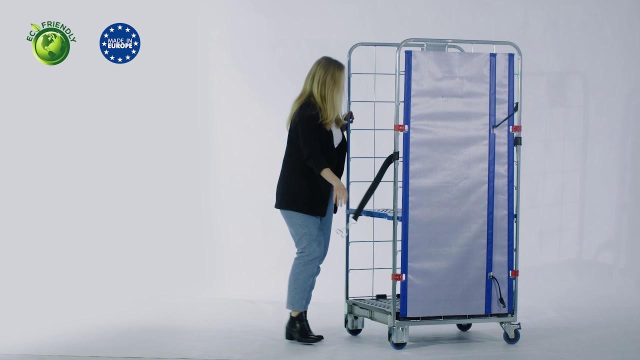 Video Standard Textile Doors