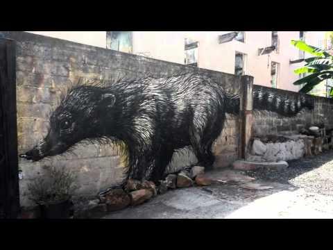 Outdoor Art in Casco Viejo, Panama City
