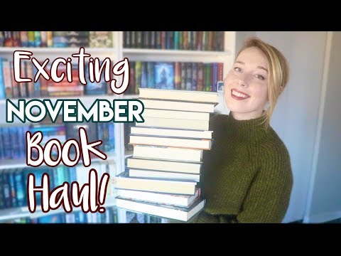 Exciting November Book Haul!
