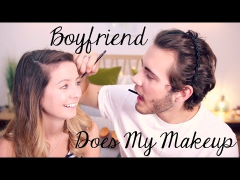 Boyfriend Does My Makeup | Zoella