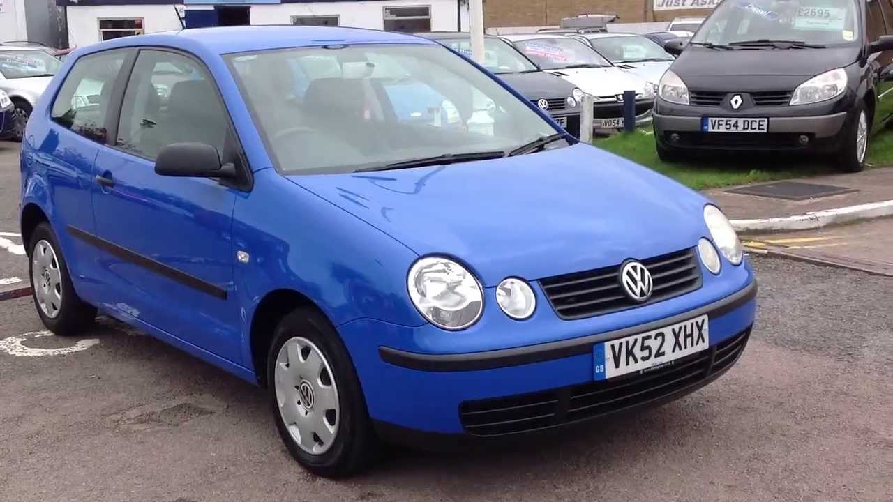 2002 52 volkswagen polo 1 2 s youtube. Black Bedroom Furniture Sets. Home Design Ideas