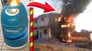 انفجار قنينات الغاز البلاستيكية الجديدة / كشف اسرار صفقة خطيييرة جدا / احذرو يا المغاربة