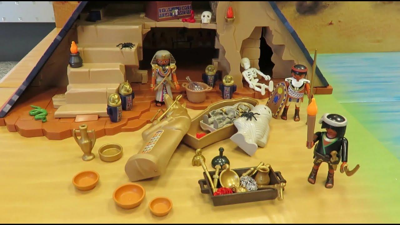playmobil pyramide des pharao 5386 mit allen geheimnissen und fallen. Black Bedroom Furniture Sets. Home Design Ideas