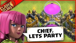Clash of Clans NEEDS TO KNOW... CAN U PARTY?