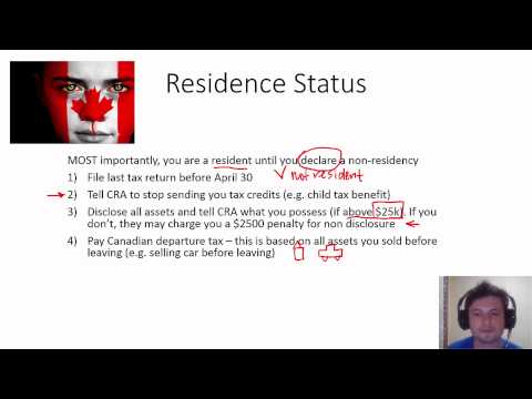 InvestoMATH - Canadian Taxes and Canadian Tax Residency - for expats working overseas