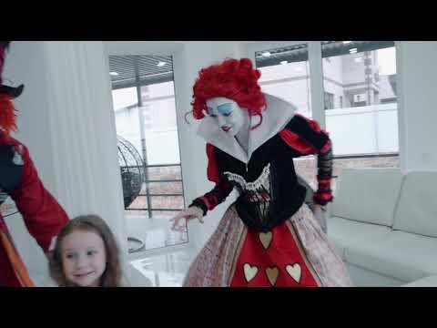 Алиса в стране чудес. Видеограф Уфа. Детское день рождения Уфа. Safaevvideo